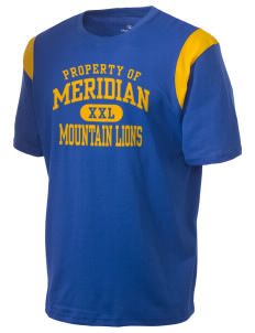 Meridian Elementary School Mountain Lions Holloway Men's Rush T-Shirt