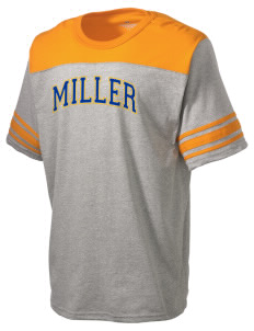 Miller Elementary School Mustangs Holloway Men's Champ T-Shirt