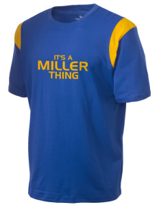 Miller Elementary School Mustangs Holloway Men's Rush T-Shirt