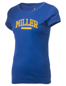 Miller Elementary School Mustangs Holloway Women's Groove T-Shirt