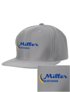 Miller Elementary School Mustangs Embroidered D-Series Cap