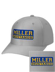 Miller Elementary School Mustangs Embroidered Wool Adjustable Cap