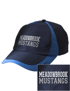 Meadowbrook Middle School Mustangs Embroidered Nike Golf Colorblock Cap