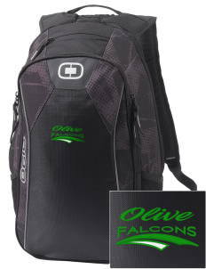 Olive Elementary School Falcons Embroidered OGIO Marshall Backpack