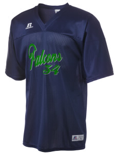 Olive Elementary School Falcons  Russell Men's Replica Football Jersey