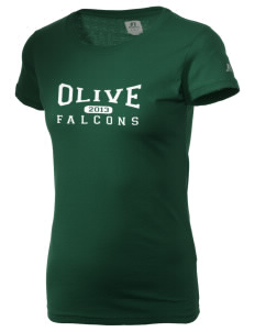 Olive Elementary School Falcons  Russell Women's Campus T-Shirt