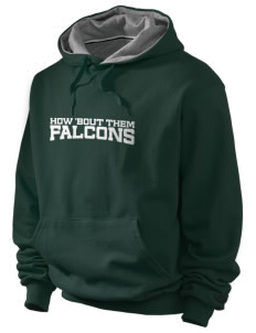 Olive Elementary School Falcons Champion Men's Hooded Sweatshirt