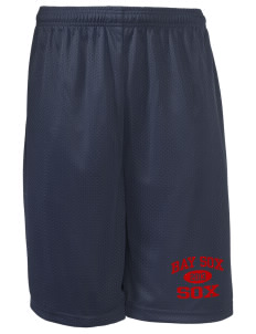 "Bay Sox Sox Long Mesh Shorts, 9"" Inseam"