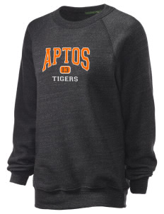 Aptos Middle School Tigers Unisex Alternative Eco-Fleece Raglan Sweatshirt