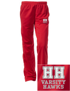 Herbert Hoover Middle School Hawks Embroidered Women's Tricot Track Pants