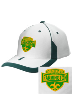 Farmington Elementary School Roadrunners Embroidered M2 Universal Fitted Contrast Cap