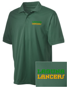 Laguna Middle School Lancers Embroidered Men's Micro Pique Polo