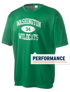 Washington Elementary School Wildcats Men's Competitor Performance T-Shirt