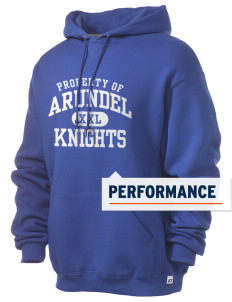 Arundel Elementary School Knights Russell Men's Dri-Power Hooded Sweatshirt