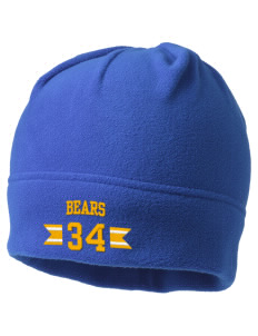 Brittan Acres Elementary School Bears Embroidered Fleece Beanie