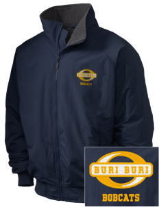 Buri Buri Elementary School Bobcats Embroidered Holloway Men's Tall Jacket