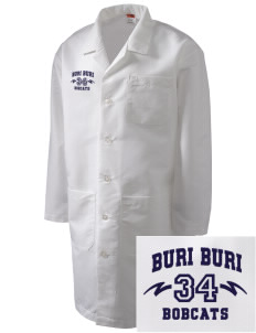 Buri Buri Elementary School Bobcats Full-Length Lab Coat