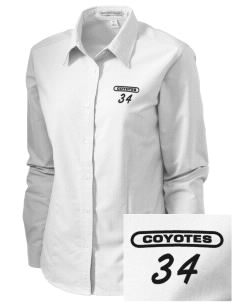 La Cuesta Continuation High School Coyotes Embroidered Women's Classic Oxford