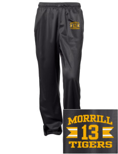 Morrill Middle School Tigers Embroidered Women's Tricot Track Pants