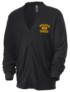 Wilcox High School Chargers Men's 5.6 oz Triblend Cardigan