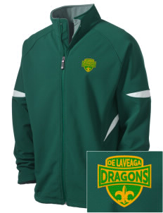 De Laveaga Elementary School Dragons Holloway Embroidered Men's Radius Zip Front Jacket