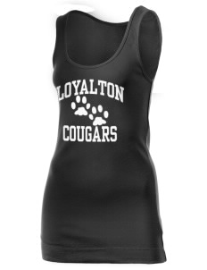 Loyalton Junior High School Cougars Juniors' 1x1 Tank