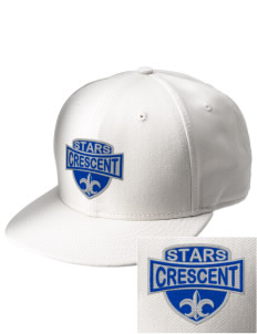Crescent Elementary School Stars  Embroidered New Era Flat Bill Snapback Cap