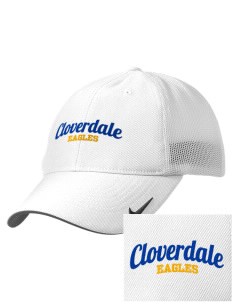 Cloverdale High School Eagles Embroidered Nike Golf Mesh Back Cap