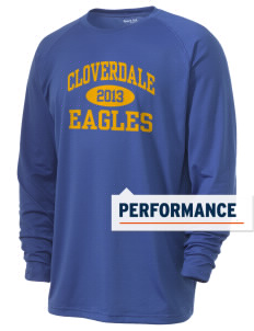 Cloverdale High School Eagles Men's Ultimate Performance Long Sleeve T-Shirt
