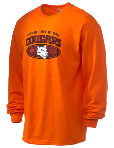 Cloverland Elementary School Cougars 6.1 oz Ultra Cotton Long-Sleeve T-Shirt