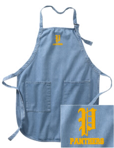 Creekside Middle School Panthers Embroidered Full-Length Apron with Pockets