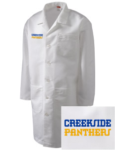 Creekside Middle School Panthers Full-Length Lab Coat