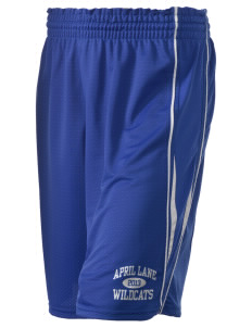 "April Lane Elementary School Wildcats Holloway Women's Piketon Short, 8"" Inseam"