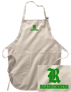 Evergreen Elementary School Roadrunners Embroidered Full-Length Apron with Pockets