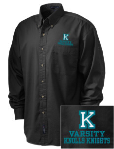 Knolls Elementary School Knolls Knights Embroidered Men's Twill Shirt
