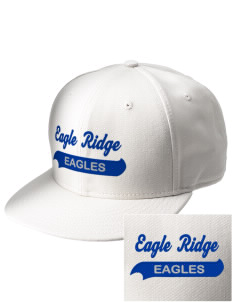 Eagle Ridge Elementary School Eagles  Embroidered New Era Flat Bill Snapback Cap