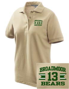 Broadmoor Elementary School Bears Women's Embroidered Silk Touch Polo