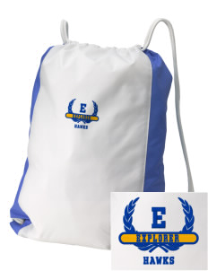 Explorer Elementary School Hawks Embroidered Holloway Home and Away Cinch Bag