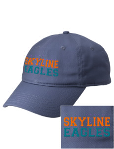 Skyline Elementary School Eagles  Embroidered New Era Adjustable Unstructured Cap