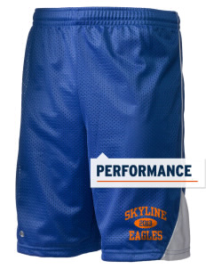 "Skyline Elementary School Eagles Holloway Men's Possession Performance Shorts, 9"" Inseam"