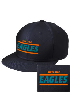 Skyline Elementary School Eagles  Embroidered New Era Flat Bill Snapback Cap