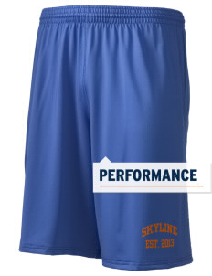 "Skyline Elementary School Eagles Holloway Men's Performance Shorts, 9"" Inseam"
