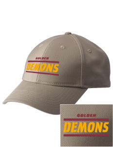 Golden High School Demons  Embroidered New Era Adjustable Structured Cap