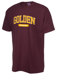 Golden High School Demons  Russell Men's NuBlend T-Shirt
