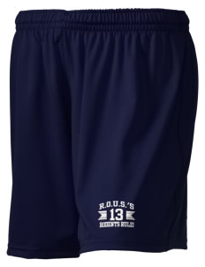 "R.O.U.S.'s Rodents Rule! Embroidered Holloway Women's Performance Shorts, 5"" Inseam"