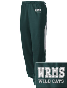 Wayne Ruble Middle Sdhool Wild Cats Embroidered Holloway Men's Pivot Warm Up Pants