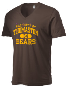 Thomaston Center School Bears Alternative Men's 3.7 oz Basic V-Neck T-Shirt