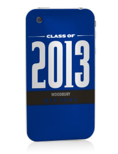 Woodbury Middle School Warriors Apple iPhone 3G/ 3GS Skin