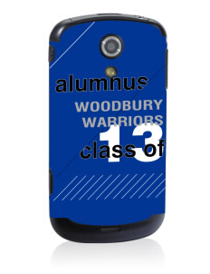 Woodbury Middle School Warriors Samsung Epic D700 4G Skin