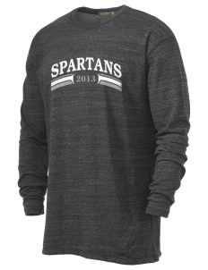 Frank Ward Strong Middle School Spartans Alternative Men's 4.4 oz. Long-Sleeve T-Shirt